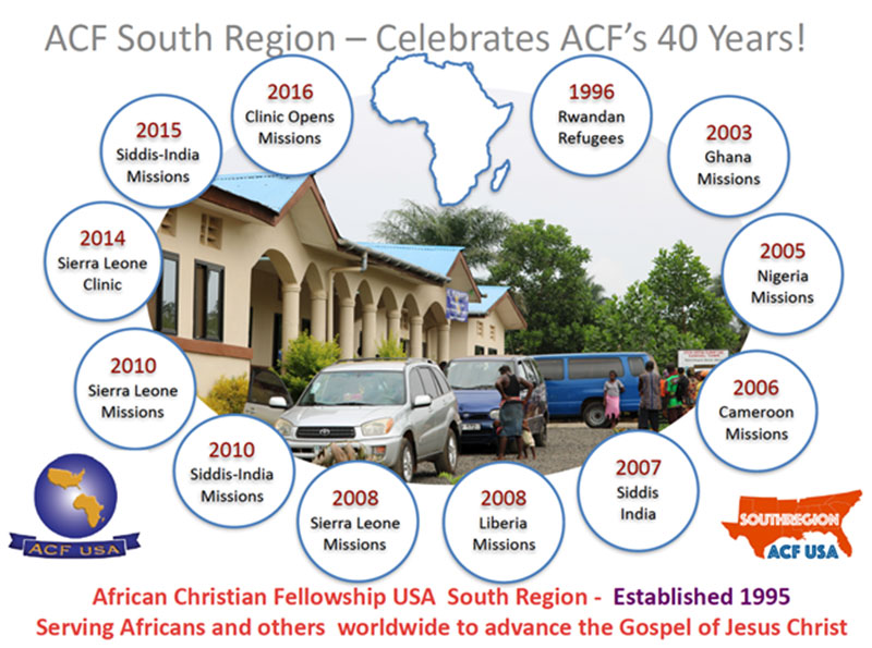 ACF South Region - Celebrates ACF's 40 Years